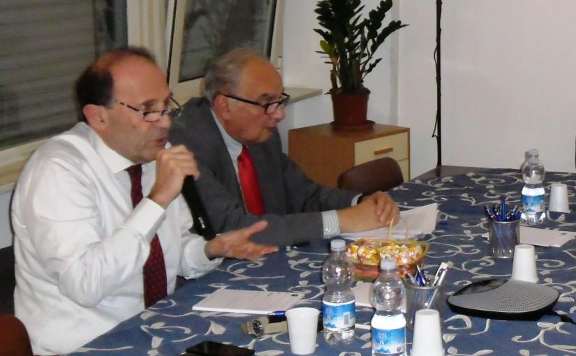 """Presentazione del Libro del Prof. Antonino Galloni """"L'ECONOMIA IMPERFETTA""""."""